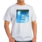 Logo with URL and tagline Light T-Shirt