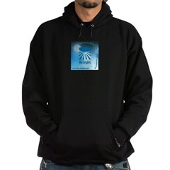 Logo with URL and tagline Hoodie (dark)