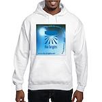 Logo with URL and tagline Hooded Sweatshirt