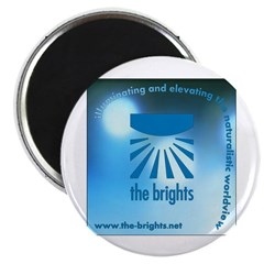 "Logo with URL and tagline 2.25"" Magnet (10 pa"