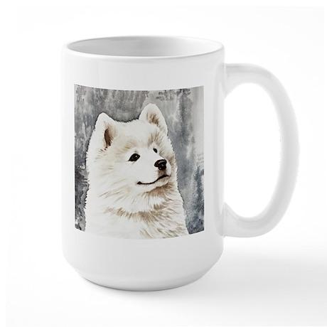 Samoyed Puppy Large Mug