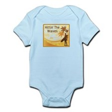 Hittin' The Waves Infant Bodysuit