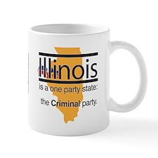 Criminal Party Mug