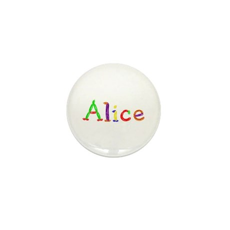 Alice Balloons Mini Button