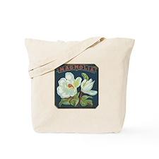 Magnolia antique label Tote Bag