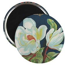 Magnolia antique label Magnet