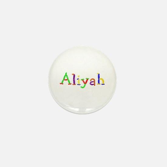 Aliyah Balloons Mini Button