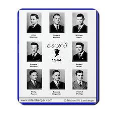 1944, Catholic Central HS, Ottumwa, Iowa, Mousepad