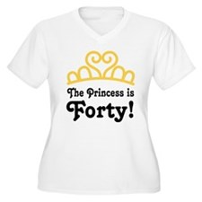 Princess Is Forty T-Shirt