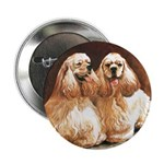 "Cocker Spaniels 2.25"" Button (10 pack)"