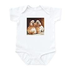 Cocker Spaniels Infant Bodysuit