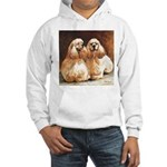 Cocker Spaniels Hooded Sweatshirt
