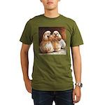 Cocker Spaniels Organic Men's T-Shirt (dark)