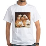 Cocker Spaniels White T-Shirt