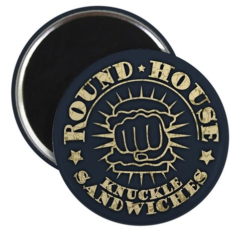 Round-House Sandwiches Magnet