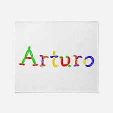 Arturo Balloons Throw Blanket