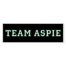 Team Aspie Bumper Bumper Sticker