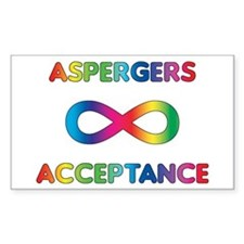 Aspergers Acceptance Decal