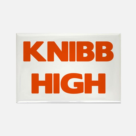 Knibb High Rectangle Magnet