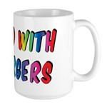 Gifted with Aspergers Large Mug