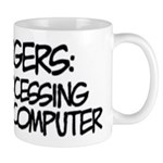 Aspergers Data Processing Mug Mugs
