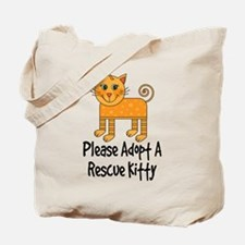 Adopt A Rescue Kitty Tote Bag