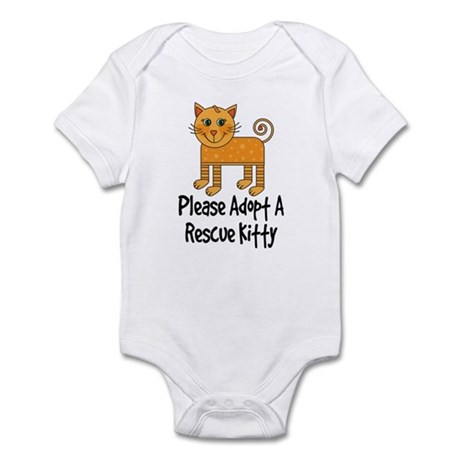 Adopt A Rescue Kitty Infant Bodysuit