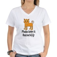 Adopt A Rescue Kitty Shirt