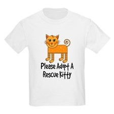 Adopt A Rescue Kitty T-Shirt