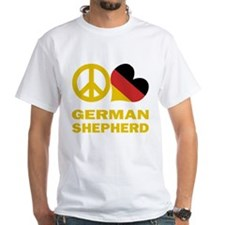 Peace Love German Shepherd Shirt
