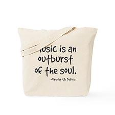 Music Outburst Delius Quote Tote Bag