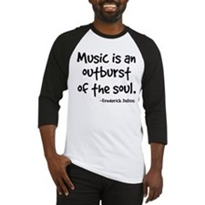 Music Outburst Delius Quote Baseball Jersey