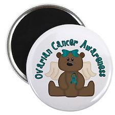 "Ovarian Cancer Bear 2.25"" Magnet (10 pack)"
