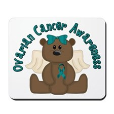 Ovarian Cancer Bear Mousepad
