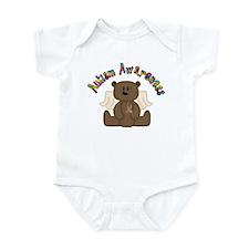 Autism Awareness Bear Infant Bodysuit