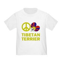 Peace Love Tibetan Terrier T