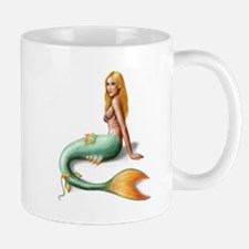 Mermaid with orange fin Mug