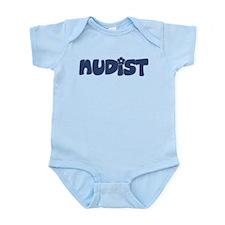 Nudist Infant Bodysuit