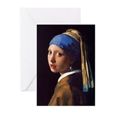 Girl With a Pearl Earring Greeting Cards (Pk of 10