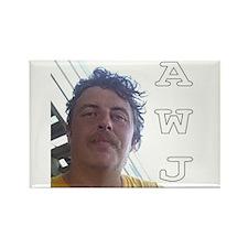 AWJ Rectangle Fridge Magnet