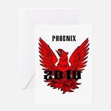 Phoenix 2010 Greeting Card