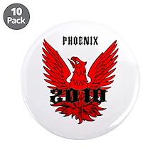 "Phoenix 2010 3.5"" Button (10 pack)"