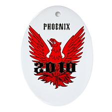 Phoenix 2010 Ornament (Oval)