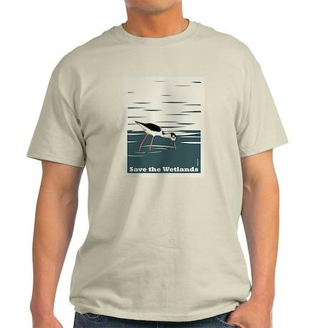 Save the Wetlands Light T-Shirt