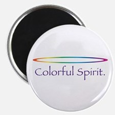 "Colorful Spirit 2.25"" Magnet (10 pack)"