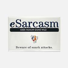 Large eSarcasm Magnet