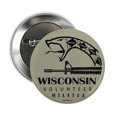 "Wisconsin Militia 2.25"" Button (10 pack)"
