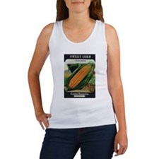 Yellow Corn antique seed pack Women's Tank Top