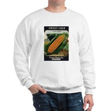 Yellow Corn antique seed pack Sweatshirt