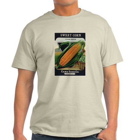 Yellow Corn antique seed pack Light T-Shirt